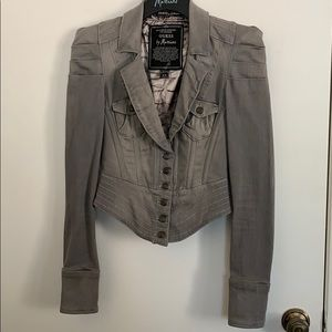 Guess by Marciano Corset Denim Jacket in Size XS
